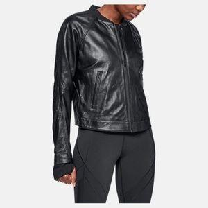 UA Misty Copeland Lambskin Leather Jacket NWT $500